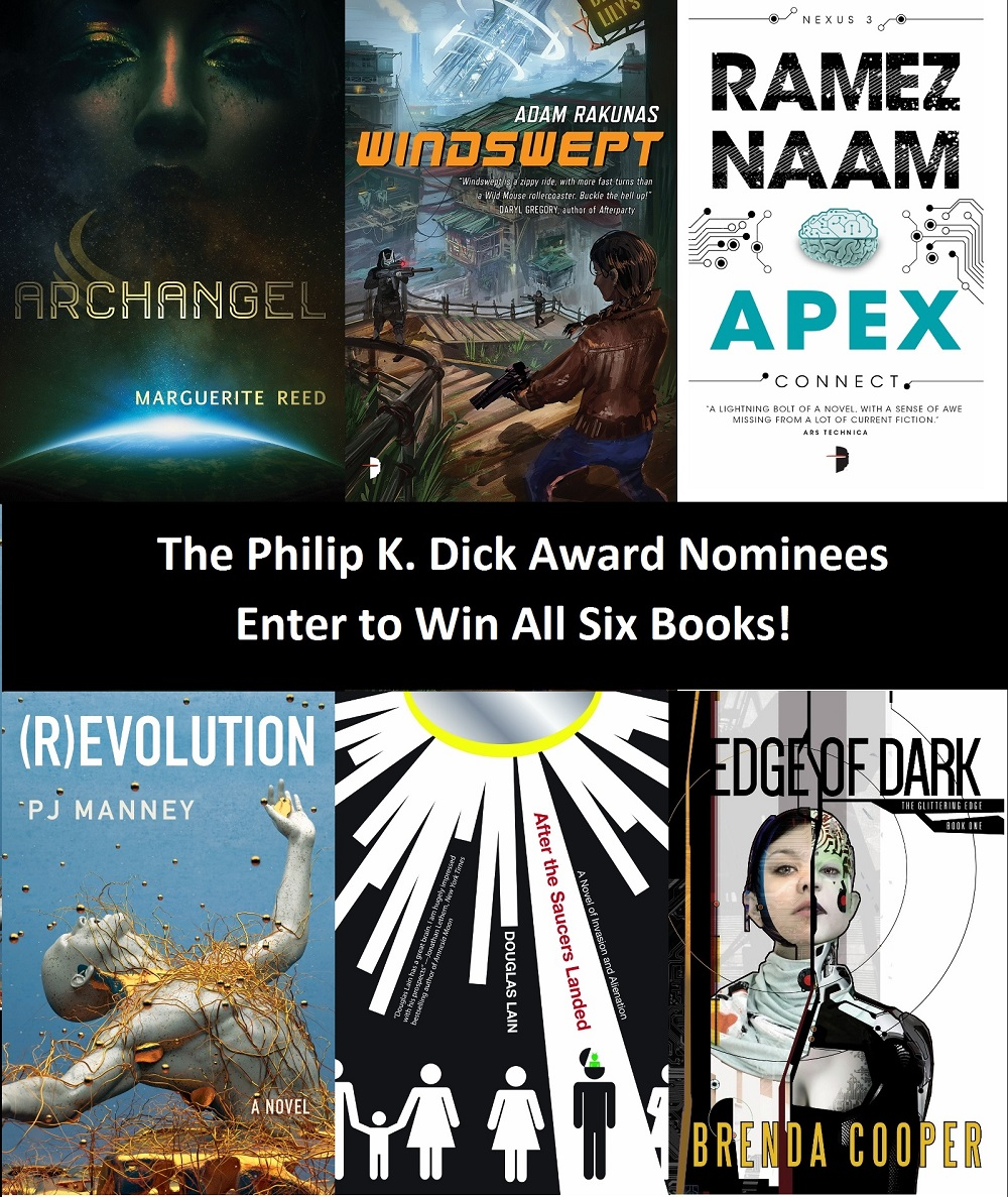 PKD Award Covers